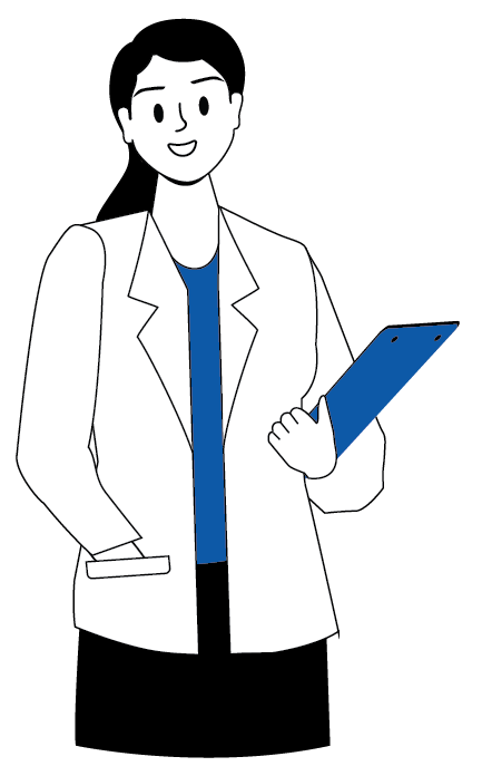 Woman Holding Clipboard White
